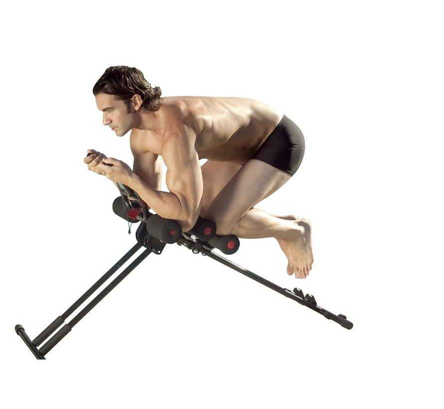 Buikspier trainer - buikspierbank verstelbaar - fitness toestel - core trainer