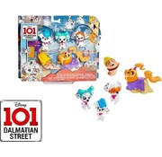 Mattel Disney 101 Dalmatiërs - Street Multipack Figuurtjes - Wellnessdag