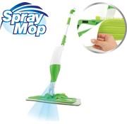 Spray Mop Vloerreiniger / vloerwisser schrob met sproeikop - 500ml tank - groen