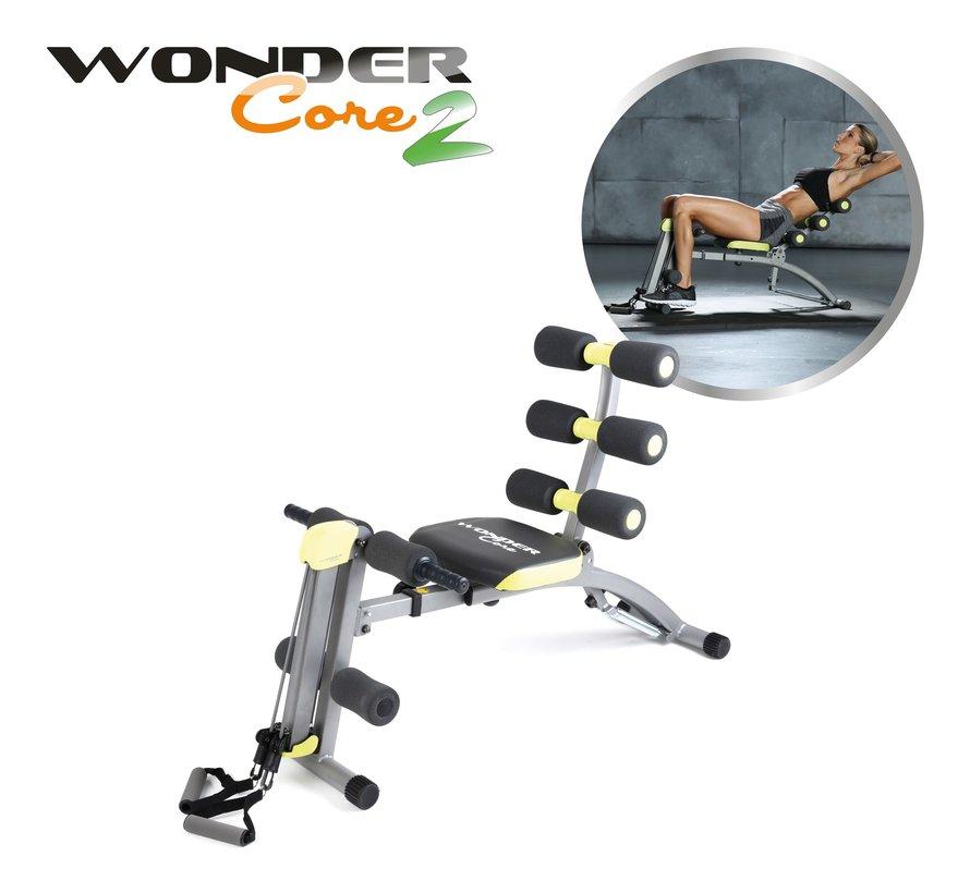 6-in-1 Fitnessapparaat voor Buikspieren, Kracht en Cardio
