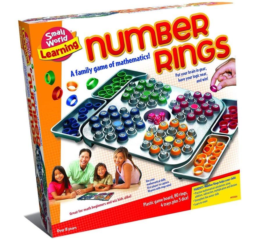 Number Rings - Bordspel - vanaf 8 jaar
