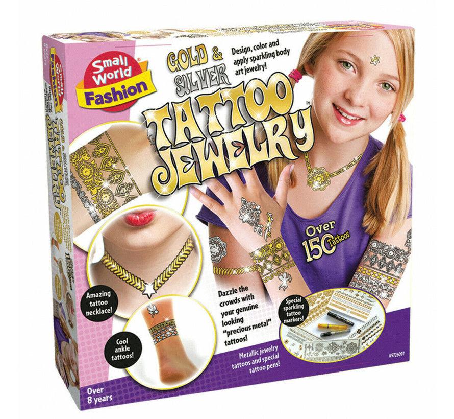 Tattoo Jewelry - Maak en ontwerp je eigen tatoeages
