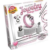 Creative Jewelry Vintage Pink - Maak en ontwerp je eigen vintage sieraden (Roze)