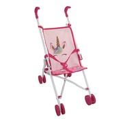 Dimian Amore Buggy Unicorn - Poppenwagen roze met eenhoorn design