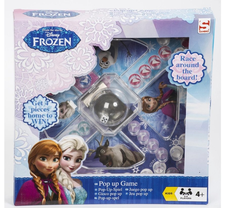 Frozen Pop Up Game - kinderspel - Mens erger je niet! / Ludo