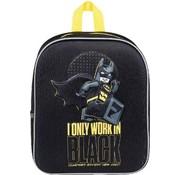 LEGO Batman Junior 3D rugzak - I Only Work In Black - rugtas