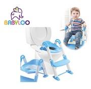 Babyloo Bambino 3in1 - Plaspotje - Trapje - WC Verkleiner - Blauw Jongens