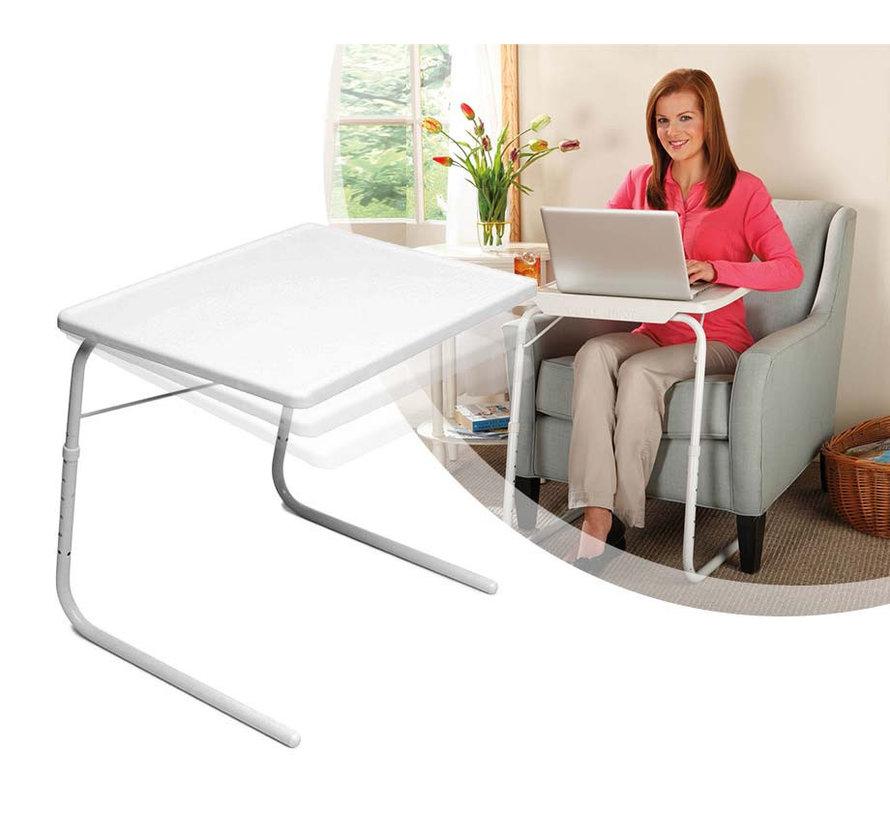 Multifunctionele inklapbare bijzettafel – bedtafel – laptoptafel – inklapbaar