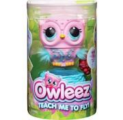 Spin Master Owleez Snowy - Interactieve Vliegende Babyuil - Roze - Oplaadbaar