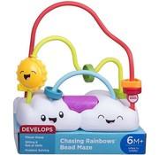 Fisher Price Chasing Rainbows Bead Maze - Regenbogen met wolken en kralen