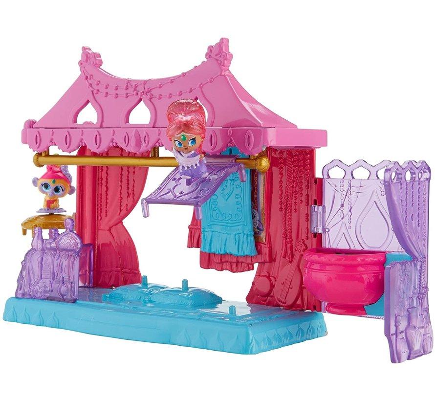 Fisher Price - Shimmer & Shine - Teenie Genies - vliegende tapijtwinkel