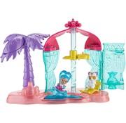Mattel Fisher Price - Shimmer & Shine - Teenie Genies - Strand speelset