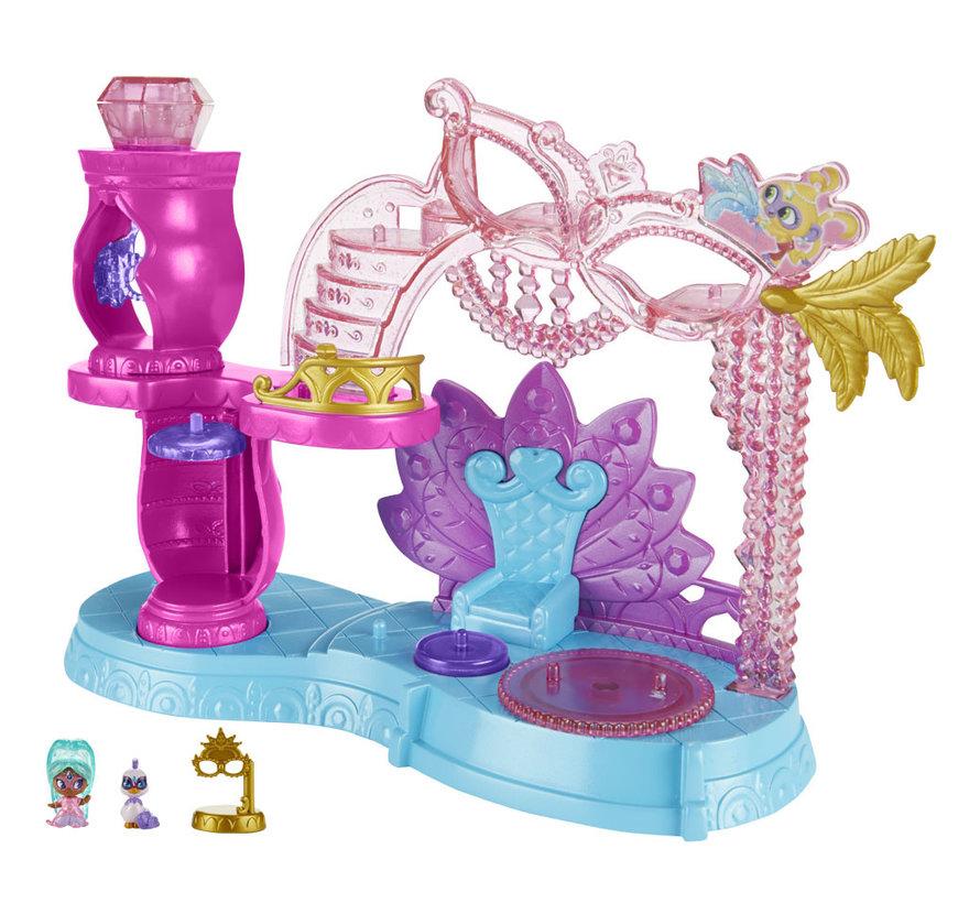Fisher Price - Shimmer & Shine - Teenie Genies - Prinses Samira gemaskerd bal