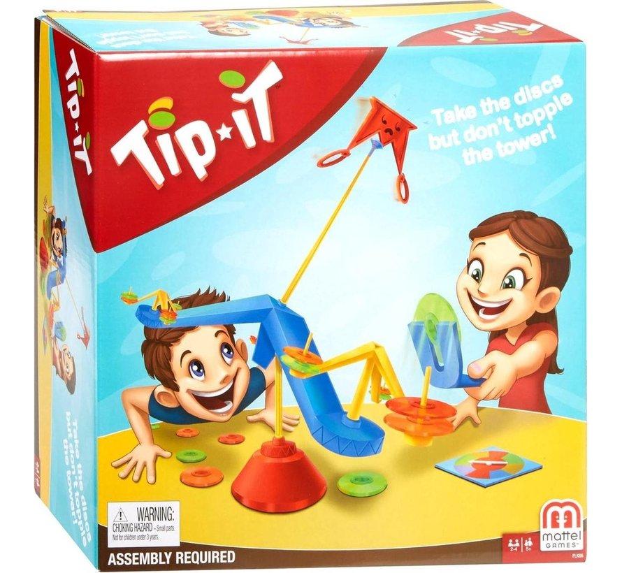 Tip It - Actiespel  - Kinderspel - Vanaf 5 jaar - 2 tot 4 spelers