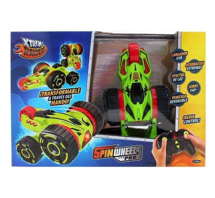 Xtrem Raiders - Spin Wheels Pro R/C - 360 graden draaibaar - salto op commando