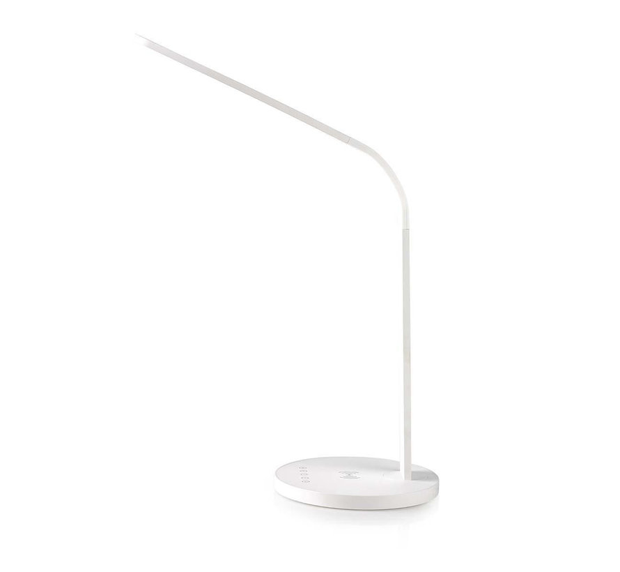 LED-tafellamp met touch-control | Draadloze Qi oplader | 5 W | 5 lichtniveaus