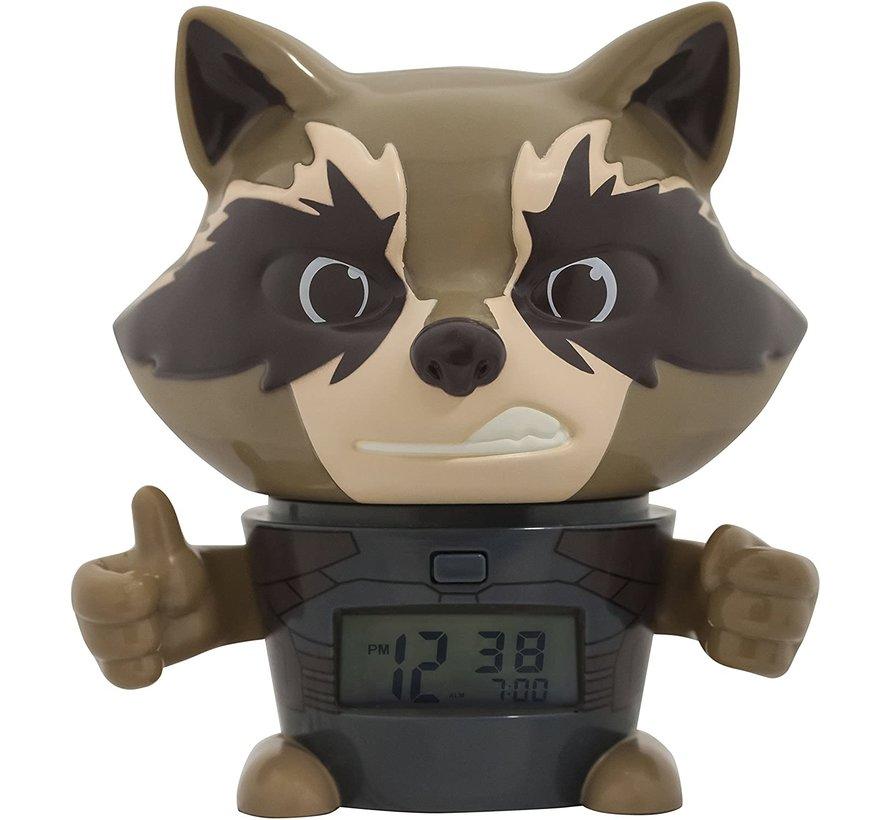 Marvel The Avengers: Infinity War Rocket Raccoon alarm klok