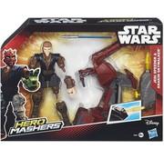 Disney Star Wars Hero Mashers - Jedi Speeder & Anakin Skywalker B3833