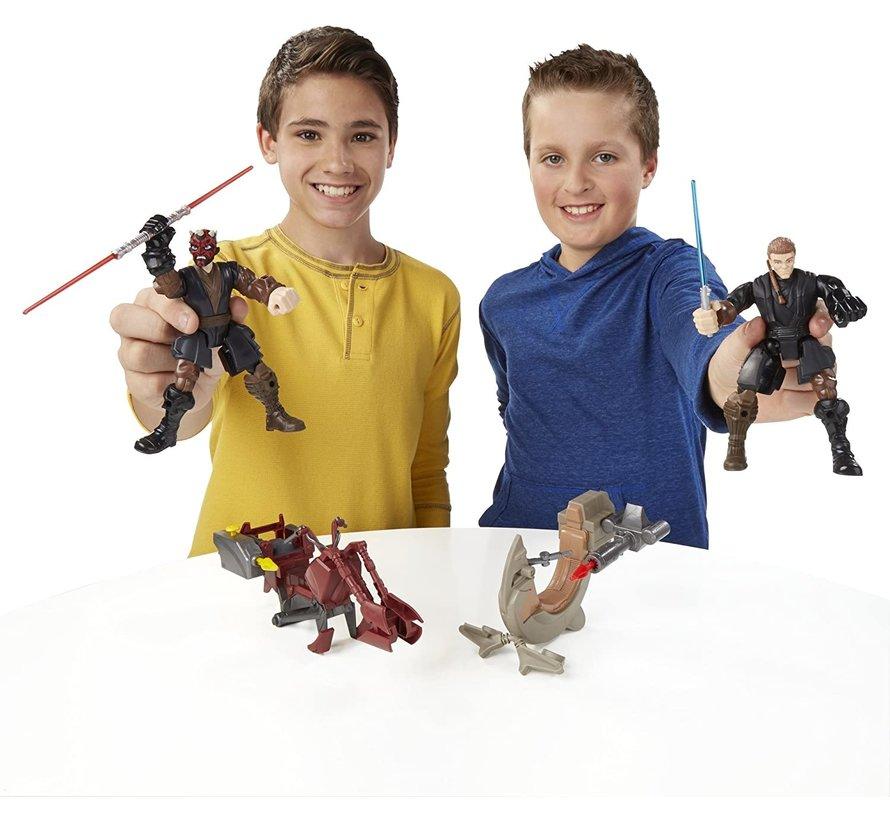 Star Wars Hero Mashers - Jedi Speeder & Anakin Skywalker B3833