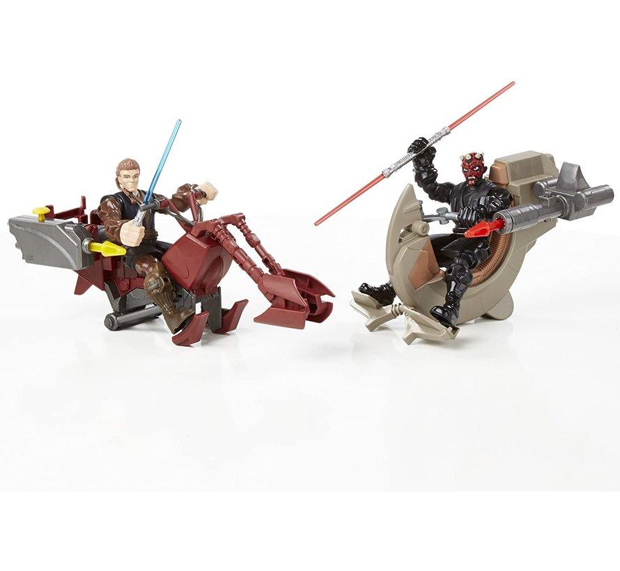 Star Wars Hero Mashers - Sith Speeder & Darth Maul B3831