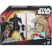 Disney Star Wars Hero Mashers - Sith Speeder & Darth Maul B3831