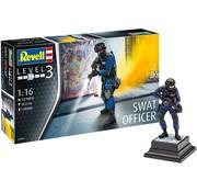 Revell Swat officier - 1:16 - Level 3 - 52 delig - nr 2805