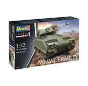 Revell 145-Delige M2/M3 Bradley 1:72 - Level 4 - nr. 3143