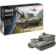 Revell M109 US Army - 1:72 - Level 5 - 160 delig - nr 3265