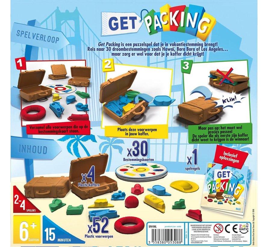 Get Packing - Actiespel  - Pak snel in en win! - Kinderspel - Vanaf 6 jaar