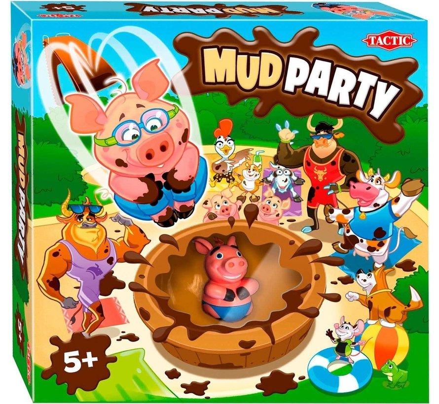 Mud Party - Gezelschapsspel - Kinderspel - Vanaf 5 jaar - 2 tot 4 spelers
