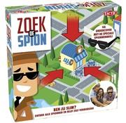 Tactic Zoek de Spion - Gezelschapsspel - Kinderspel - Vanaf 7 jaar - 2 tot 4 spelers