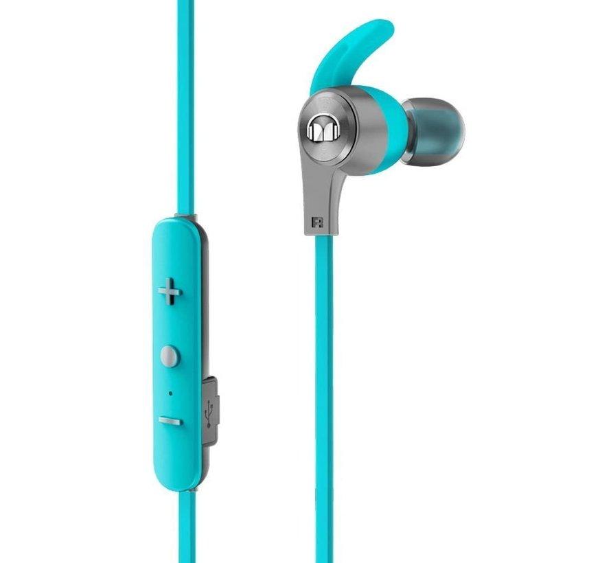 iSport Achieve - Bluetooth draadloze in-ear hoofdtelefoon Wireless - blauw