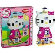 PlayBIG BLOXX Hello Kitty - Kattenhuis XXL - 198-delige set - 4 speelfiguren