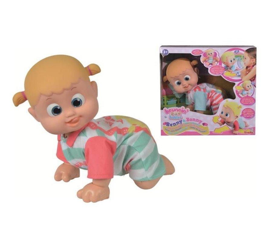 Benny & Bonny - Kom maar bij mama! - Interactieve babypop + APP