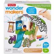 Fisher Price Wonder Makers - Kleurrijke Boomhuis - Houten Bouwset - 30+ Delige set