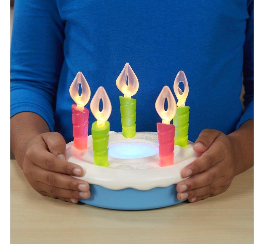 Verjaardagstaart - Blaas alle kaarsjes uit voordat de muziek stopt!