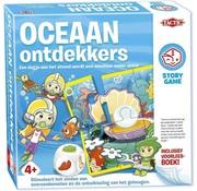 Tactic Story Game - Oceaan Ontdekkers - Kinderspel - Inclusief voorleesboek