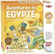 Tactic Story Game - Avonturen in Egypte - Kinderspel - Inclusief voorleesboek