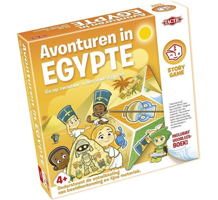 Story Game - Avonturen in Egypte - Kinderspel - Inclusief voorleesboek