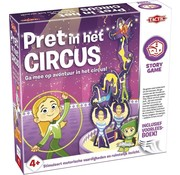 Tactic Story Game - Pret in het Circus - Kinderspel - Inclusief voorleesboek