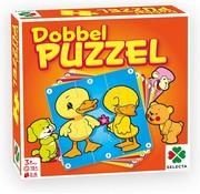 Selecta Dobbel Puzzel - Kinderspel - 6 puzzels - Vanaf 3 jaar