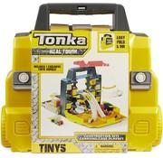 Tonka Speelkoffer inklapbaar met een auto - Bouwplaats