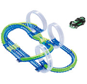 Wave Racers Triple Sky Loop Speedway - Racebaan - 3 Loopings - 1 Auto - 60 Delig