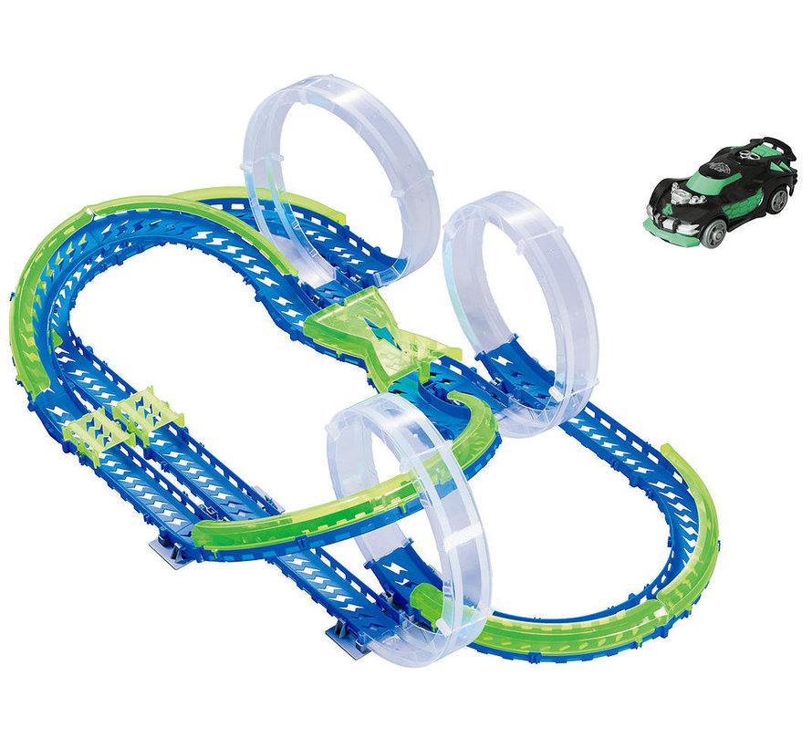 Triple Sky Loop Speedway - Racebaan - 3 Loopings - 1 Auto - 60 Delig