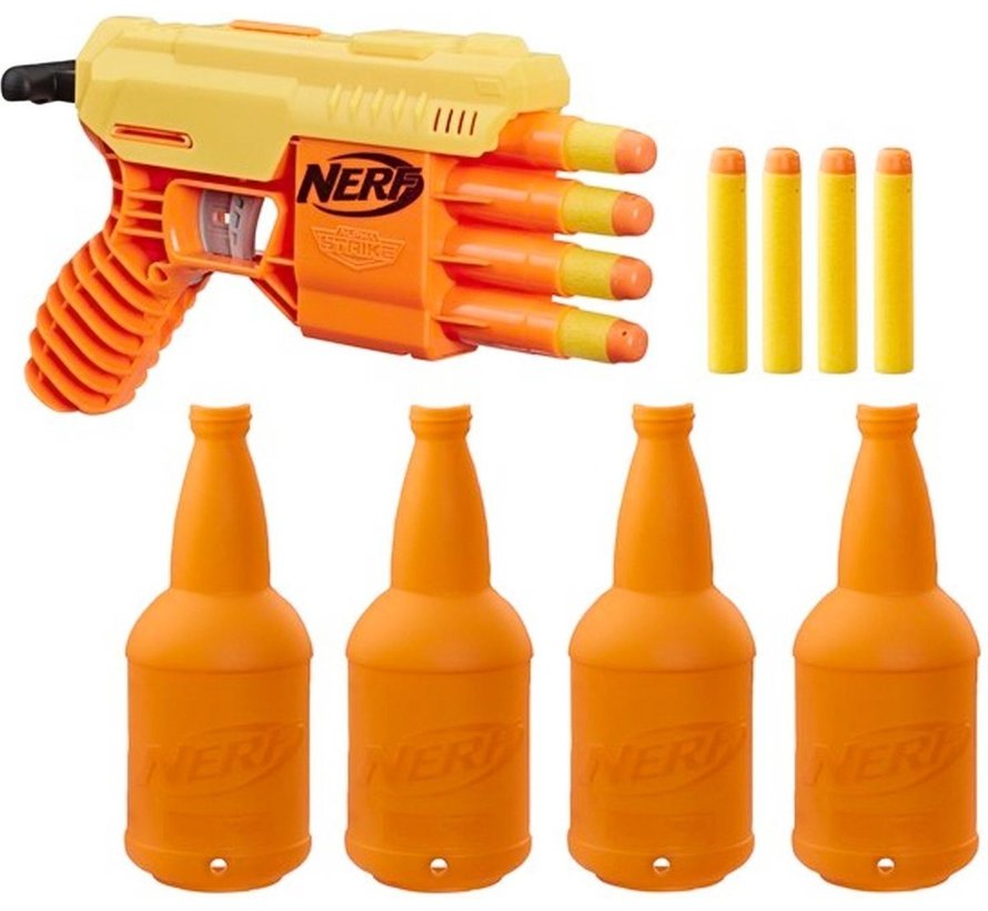 NERF - Alpha Strike Fang GQ-4 - Blaster 13-delig