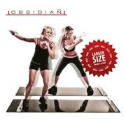 Obsidian Slide Board Pro 180 cm - Full body workout thuis - Schaats Slide Trainer - Bekend van TV
