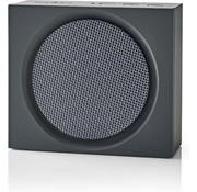 Nedis Bluetooth Speaker - Vierkant  - 9W - Grijs - Oplaadbaar