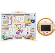 Smoby Kinderschool inklapbaar - Leuke school voor kinderen met 80 accessoires