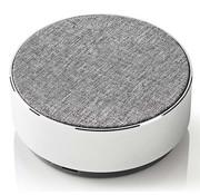 Nedis Design Bluetooth Speaker Metaal - Rond  - 9W - Wit - Oplaadbaar