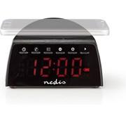 Nedis Digitale Wekkerradio - Draadloos Telefoon Opladen - FM - Bluetooth Radio